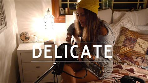 taylor swift delicate live acoustic ria ritchie taylor swift delicate acoustic cover youtube