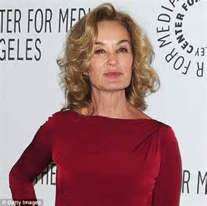 jessica lange, 62, proves that not all actresses rely on