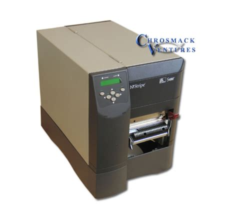 Printer Zebra S4m chrosmack ventures inc