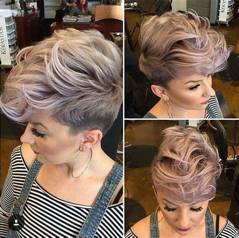 pixi cuts cherry brown and blonde pin by kathleen bessmer on pixie cuts i love pinterest