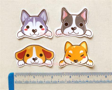 Aufkleber Hund by Stickers Animal Sticker Kawaii Sticker Laptop