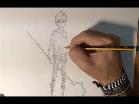 imagenes de jack frost para dibujar dibujar jack escarcha del origen de los guardianes draw