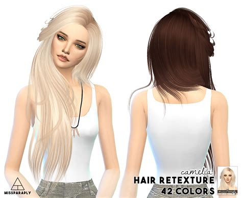 cc for sims 4 my sims 4 blog sintiklia hair retexture for females by