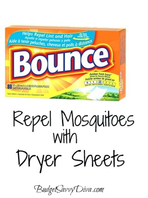 do dryer sheets repel bed bugs repel mosquitoes with dryer sheets budget savvy diva