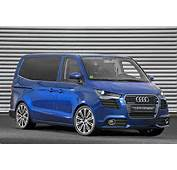 The Audi Transporter Concept Is Based On Vw T5 Which
