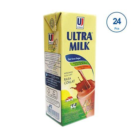 Uht Ultra Milk Low 250 Ml 24 Pcs 1 Dus jual ultra jaya ultra milk minuman cokelat 250ml 24