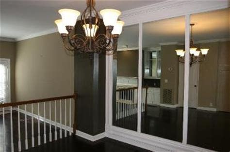 floor to ceiling mirror panels townhomes for lease in green brentwood and cool springs