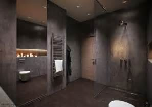 Dark Bathroom 50 Shades Of Grey Design Edition