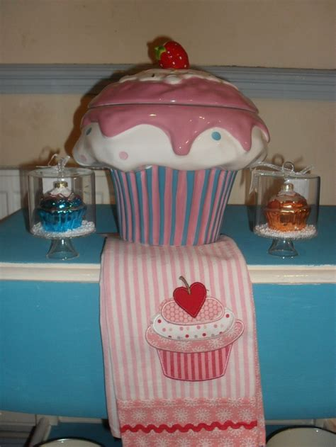 cupcake canisters for kitchen 122 best cupcake decor images on kitchen stuff