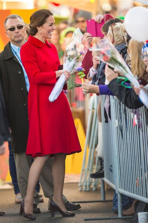 Kate Middleton S Second Royal Tour Of Canada In Dresses