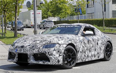 Lu Led Motor Supra upcoming toyota supra spotted with production headlights