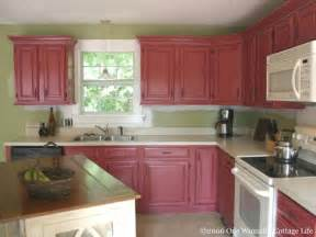 how paint trim oak cabinets tutorial cottage magpie painting kitchen not realted other posted vinyl