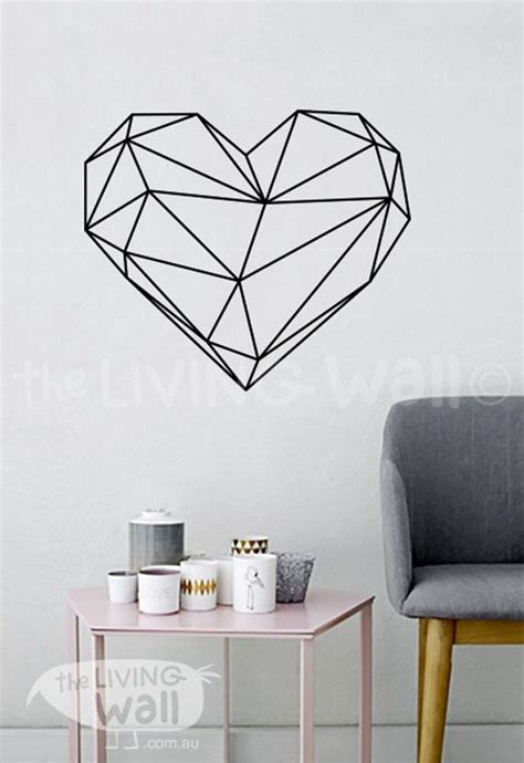 deko sticker wand 926 geometric wall decal decor bedroom vinyl wall