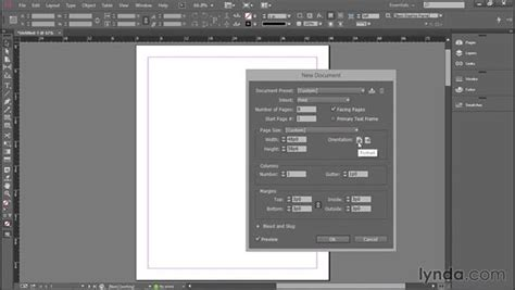 unity layout margin page size columns and margins