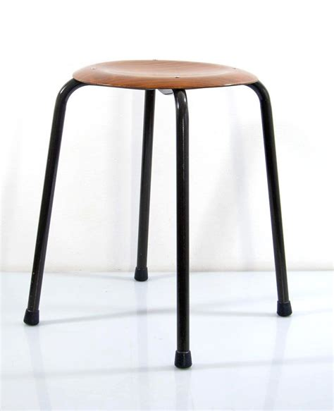 Stackable Stools by Sixties Plywood Stackable Vintage Stools