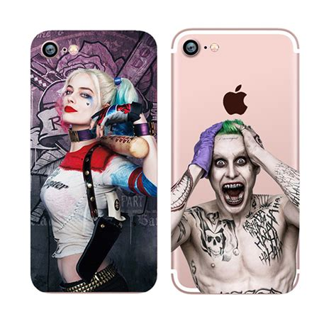 Casing Samsung S6 Squad Harley Quinn Margot Robbie Custom dc comics squad margot robbie harley quinn soft tpu clear for iphone 6s for iphone