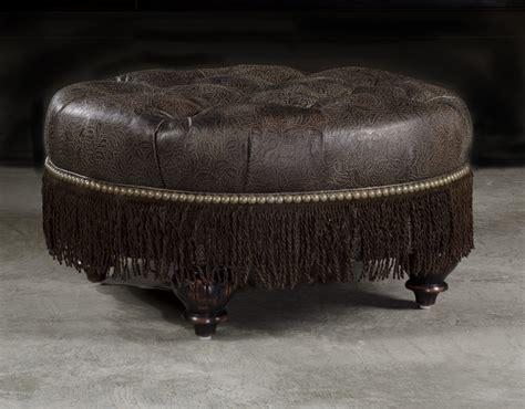 high ottoman high quality furnishings leather ottoman