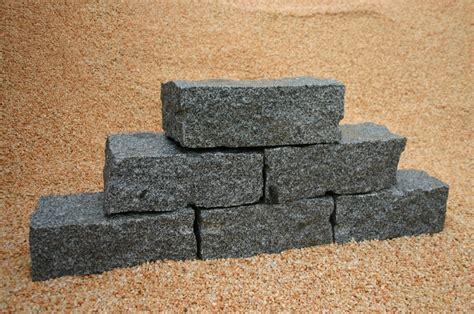 granit mauersteine 40x40x80