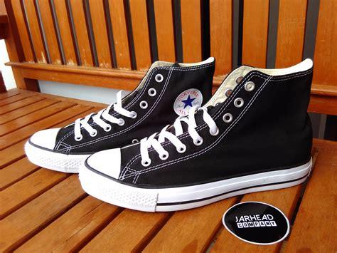 Sepatu Converse Ori Bekas jual sepatu converse all high black white original