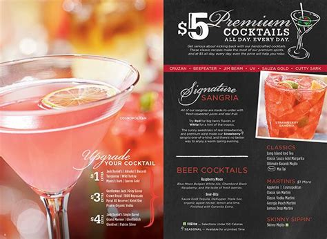 cocktail drinks menu 71 best images about menus on pinterest disney news