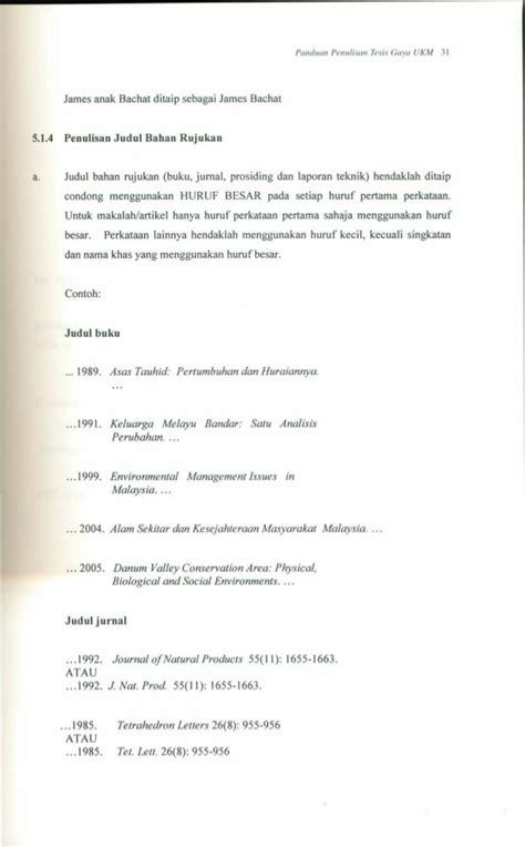 format proposal gaya ukm master thesis ukm
