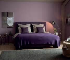 deco chambre violet marron design de