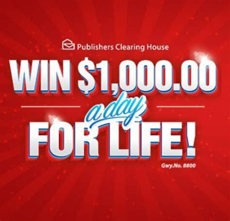Pch Winner October 13 2017 - quick what would you say if you win 1 000 a day for life pch blog