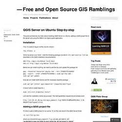 qgis server tutorial ubuntu qgis tutorials pearltrees