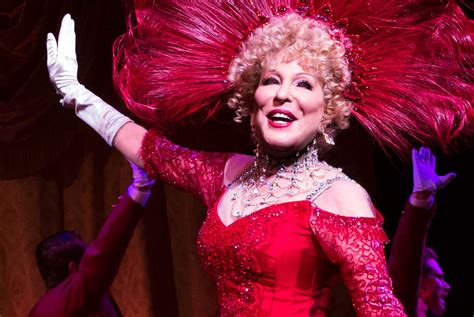 bette midler bette midler is the oldest dolly levi in hello
