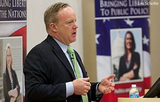 sean spicer how tall rnc staffer addresses government students liberty university