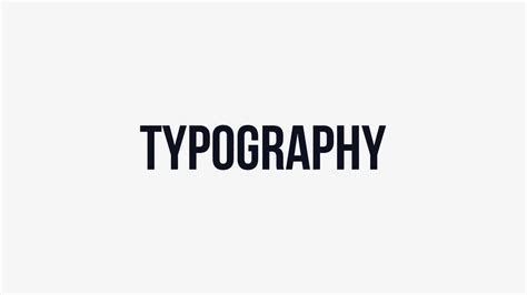 typography vimeo after effects template mono rhythm typography on vimeo