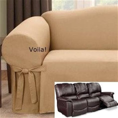 Reclining Sofa Slipcover 17 Best Images About Slipcover 4 Recliner On Pinterest Taupe Black Suede And Seat