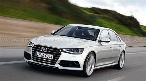 Audi A4 New by Audi A4 2014 The New A4 Codenamed B9 By Car Magazine