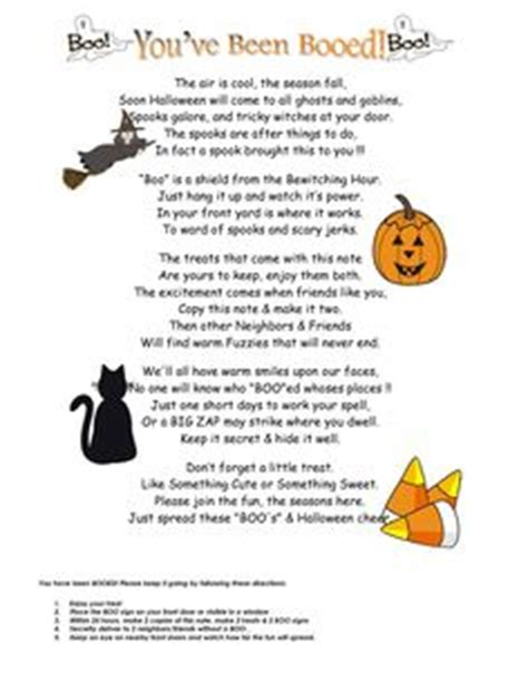 printable you ve been booed poem you ve been hit by cupid very cute idea to do to the