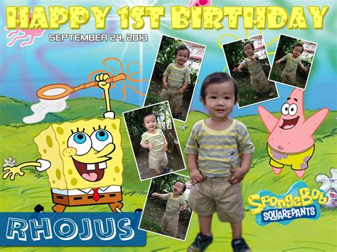 online layout for tarpaulin rhojus spongebob tarp layout cebu balloons and party