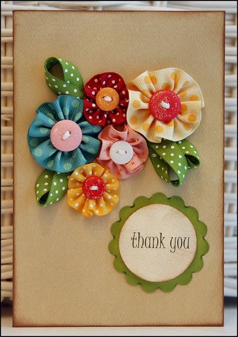 Handmade Cards With Ribbon - scrapbooking cards ideas for s day scrapbooking