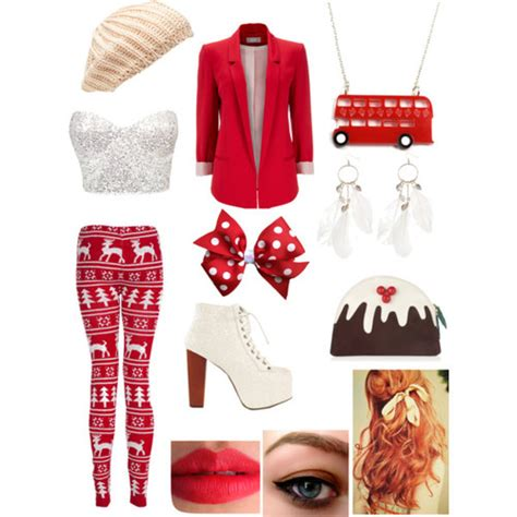 20 christmas polyvore combinations