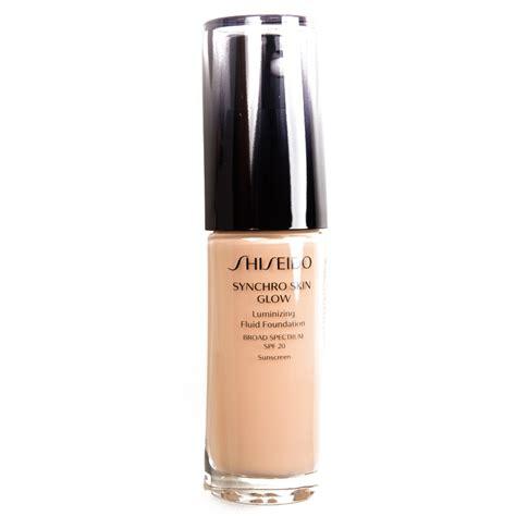 Shiseido Synchro Foundation shiseido neutral 3 synchro skin glow luminizing liquid