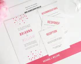 confetti wedding invitations wedding invitations by shine