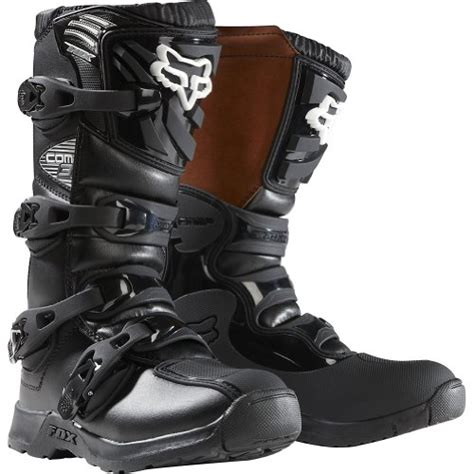 boys motorcycle boots fox racing comp 3 youth boys mx road dirt bike