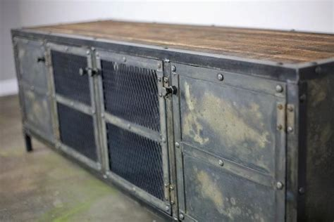 nice cabinet desk 3 vintage credenza desk furniture hand made vintage industrial media console credenza buffet