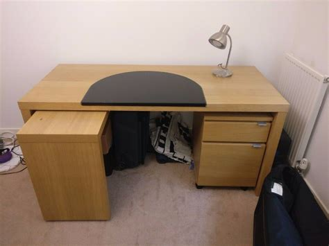 Pull Out Desks by Ikea Malm Desk With Pull Out Table Filing Cabinet And