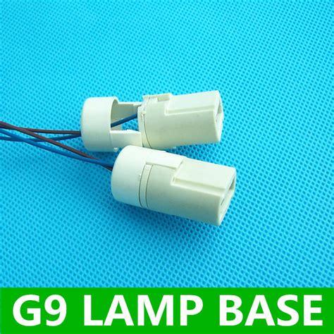 g9 l base 250v2a pottery and porcelain socket holder