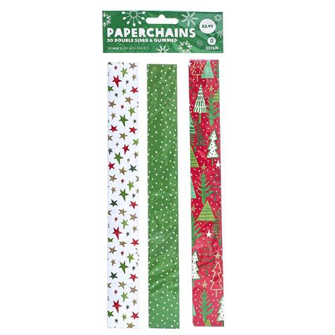 decorative christmas paper chains oxfam gb oxfam s