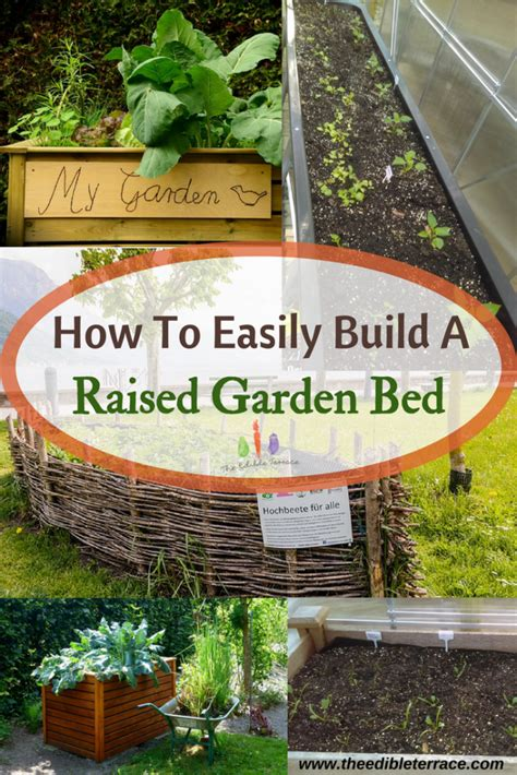 how to build a raised bed garden easily build an amazing raised garden bed how to plans
