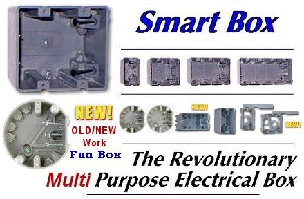 smart box electrical boxes old work, new work and