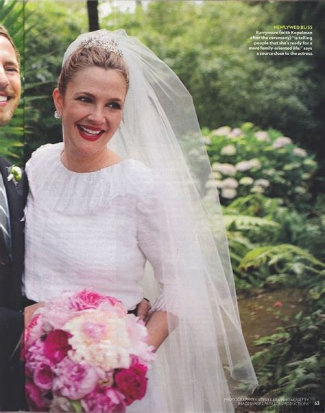 drew barrymore and will kopelman wedding drew barrymore wedding pieces of me