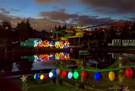 wild waves holiday lights calendar seattle get festive at wild waves holiday with lights