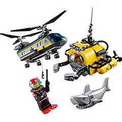 Sale Lego City Sea Helicopter planes buy at brain toys