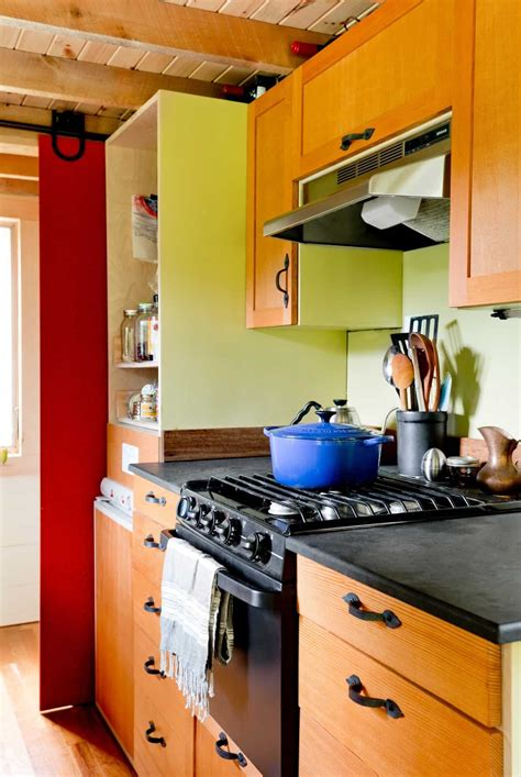 tiny house living cooking in a tiny house kitchen
